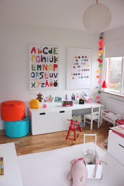 Decorar cuartos de juegos de color blanco - Juego decorar habitacion ...