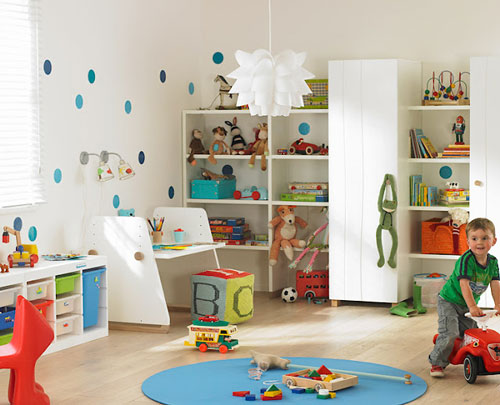 Decorar cuartos de juegos de color blanco decoideas net - Habitaciones en blanco ...
