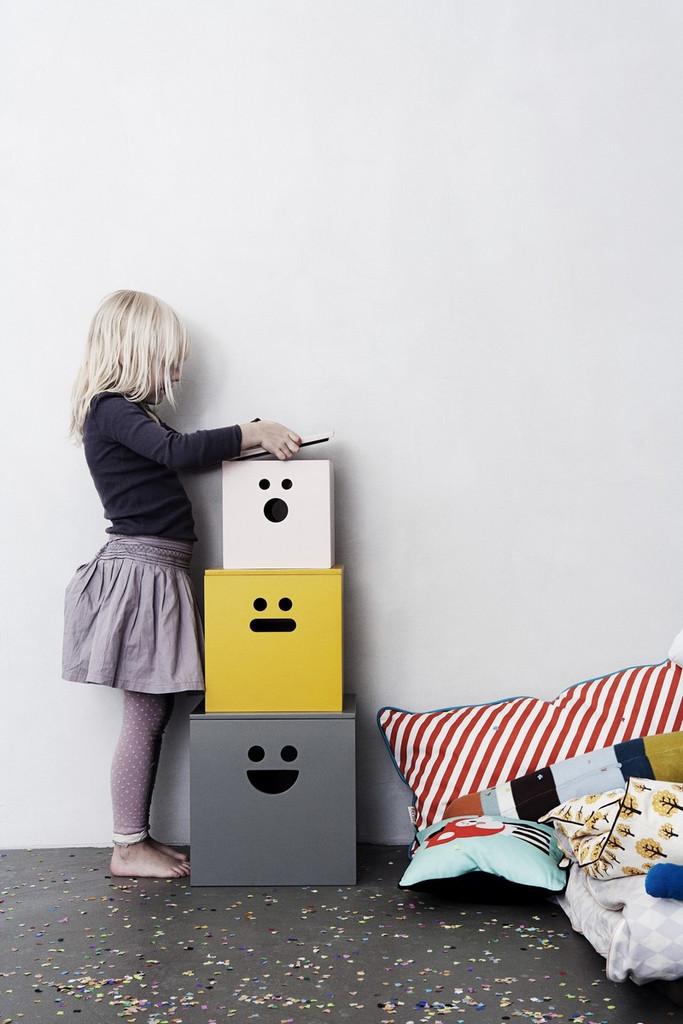 Todo en orden con ferm living - Cajas almacenaje decorativas ...