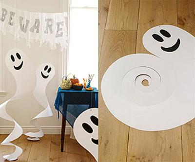 Manualidades fantasmas Halloween