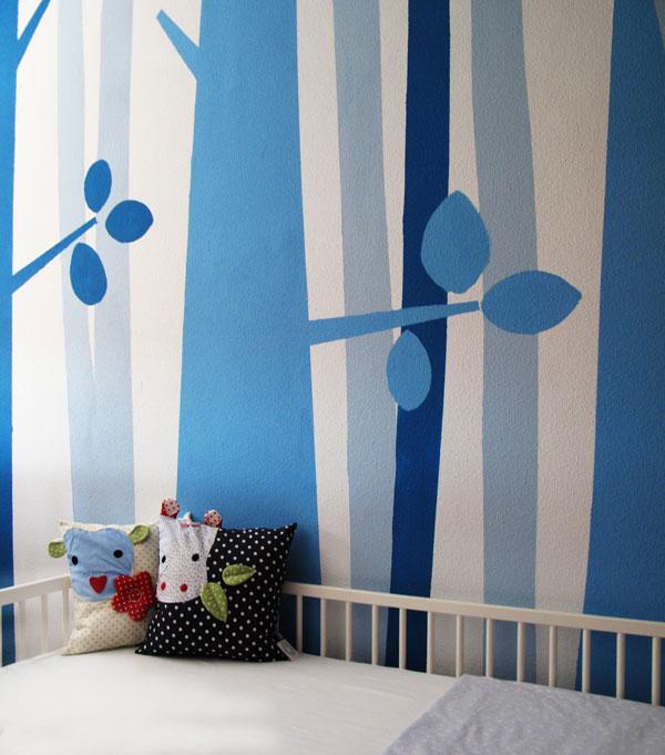 Murales pintados infantiles decoideas net - Ideas pintar habitacion ...