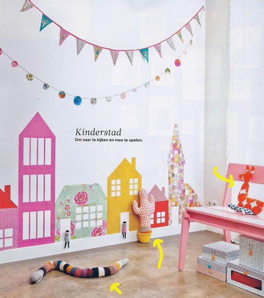 Paredes infantiles originales for Pintar paredes ideas originales