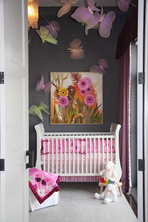Decoraci n bebes mariposas - Bebes y decoracion ...