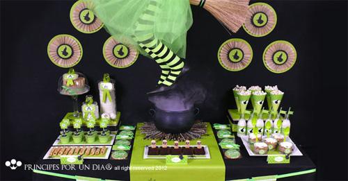 Como decorar una mesa de halloween decoideas net for Decoracion mesa halloween