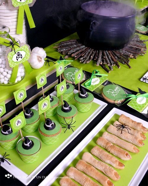 Como decorar una mesa de halloween - Decoracion mesa halloween ...