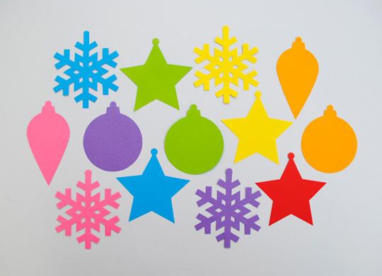 Hacer adornos de navidad - Adornos de navidad con cartulina ...