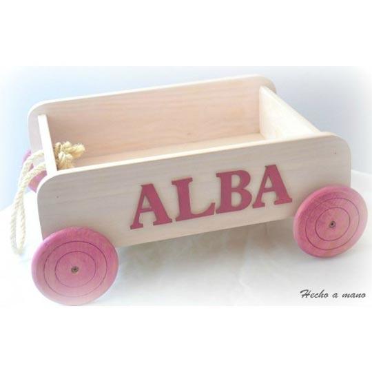 jugueteros de madera para nios
