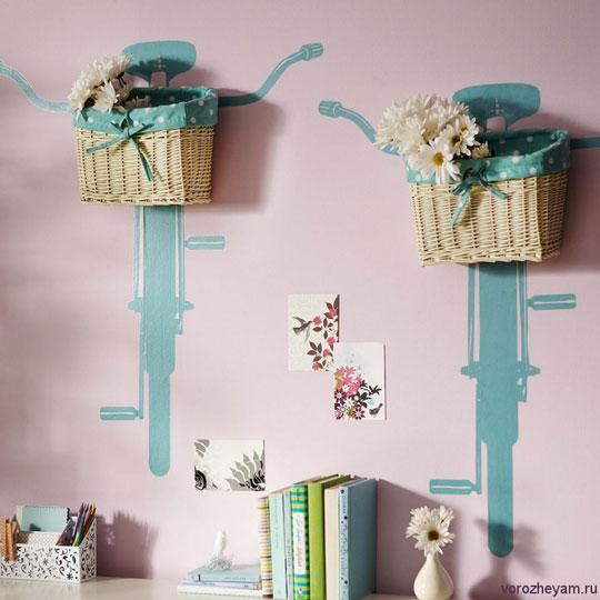 Ideas decoraci n infantil bicicletas decoideas net - Decoracion infantil paredes ...