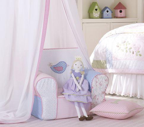 Pon un sillón en el cuarto de los niños