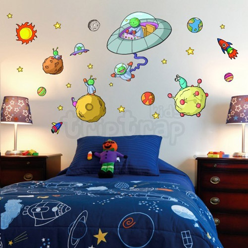Decoraci n infantil con los vinilos de trip trap kids for Decoracion pieza nino