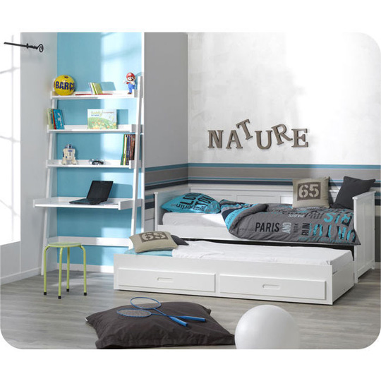 Escritorio estanter a para habitaciones peque as decoideas net - Escritorios para habitaciones pequenas ...