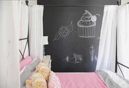 Un dormitorio muy femenino - Organizacion habitacion infantil ...