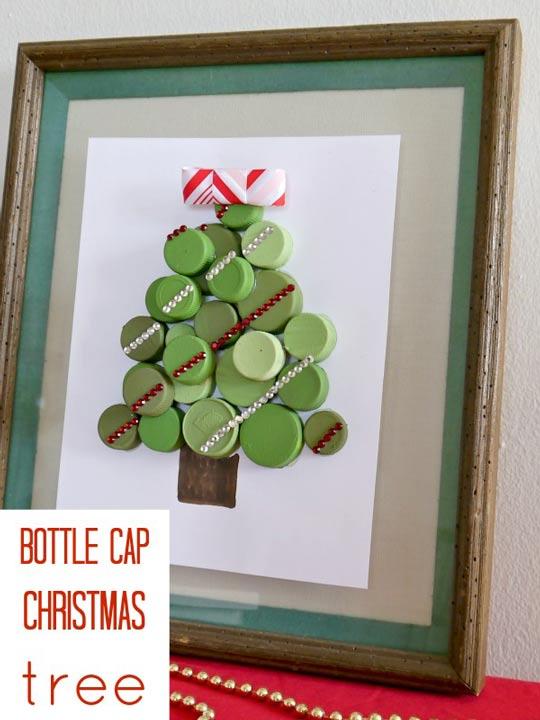 Arbol de navidad reciclado - Manualidades navidad arbol ...