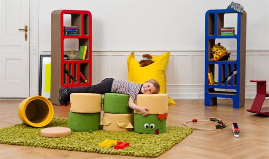 asientos infantiles divertidos. Black Bedroom Furniture Sets. Home Design Ideas