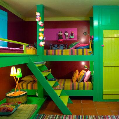 Habitaciones infantiles para tres ni os - Habitacion para 2 ninos ...