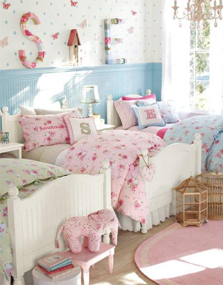 Habitaciones infantiles para tres ni os for Cuartos para ninas gemelas