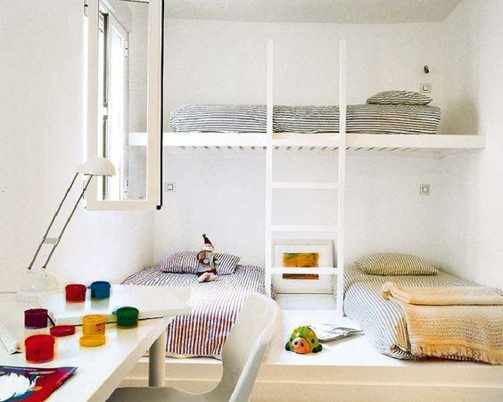 29 Habitaciones Para Tres Niños Fotos De Habitaciones Para Tres Niños
