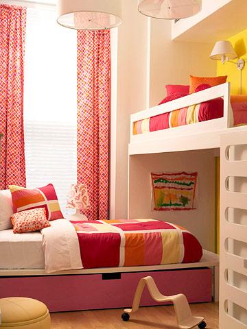 Ideas habitaciones infantiles pequeñas