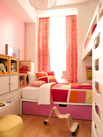 Ideas habitaciones infantiles peque as for Habitaciones pequenas modernas