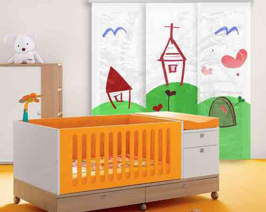 Cortinas estores - Precios de habitaciones infantiles ...