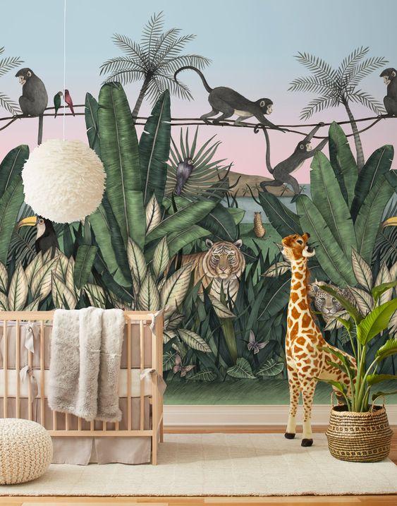 Habitación bebé Selva