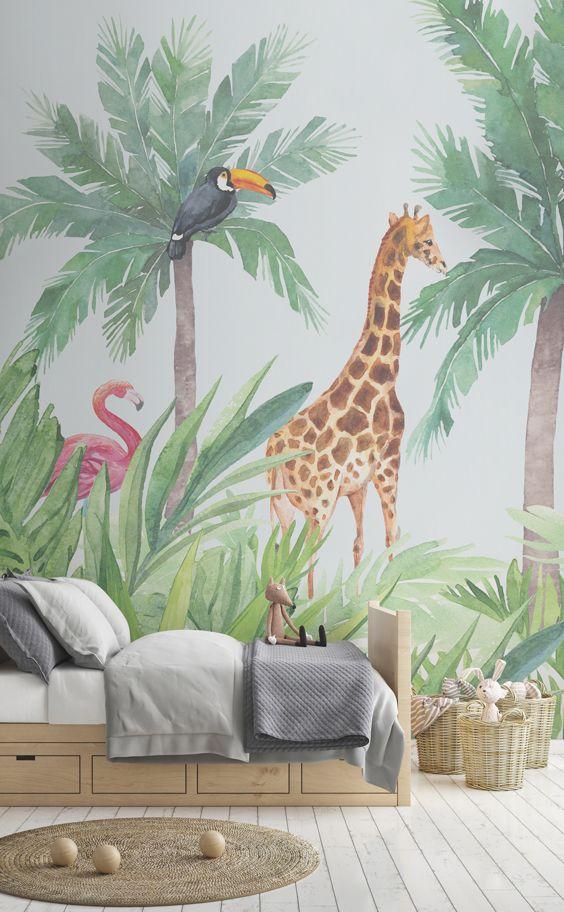 Habitación infantil Selva
