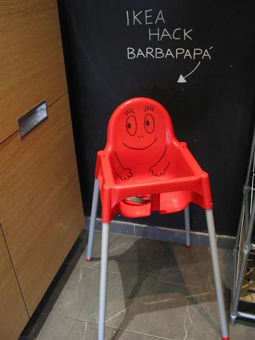Ikea Hack: Trona Barbapapá