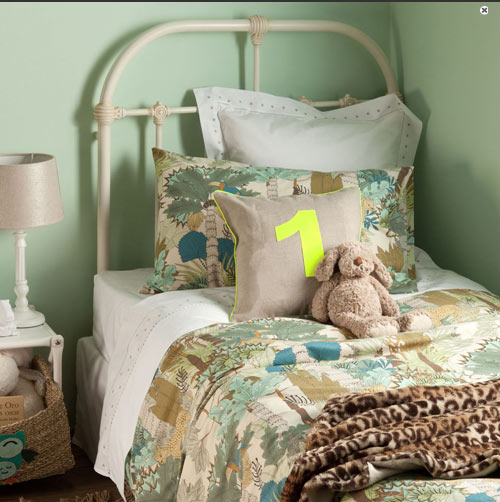 Textiles habitaciones infantiles - Zara home kids cortinas ...