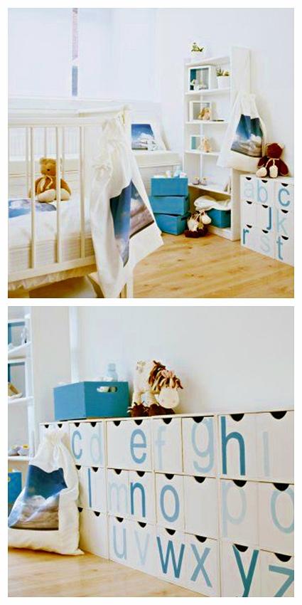 ideas de almacenaje para la habitacin del beb decoideas