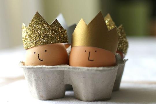 Los reyes de la fiesta de Pascua