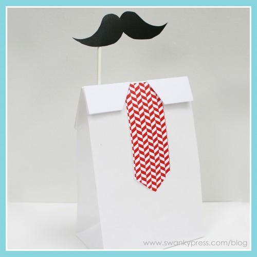 Manualidades Día del Padre: bolsa decorada.
