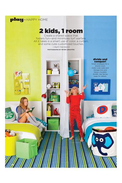 Habitación compartida para chico y chica