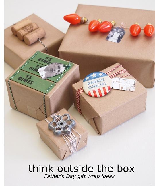 Ideas para envolver los regalos de papá