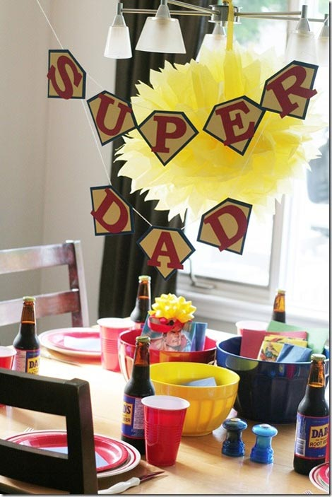 Ideas para celebrar una Fiesta Temática en el Día del Padre