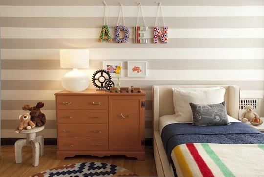 El dormitorio de Aden e Isabel