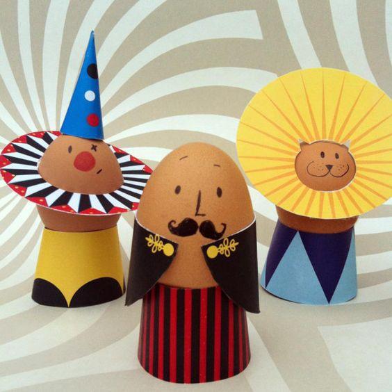 huevo de pascua circo