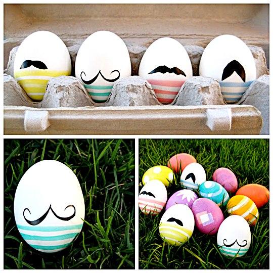 Manualidades huevos de Pascua
