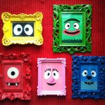 Una idea creativa para cuadros infantiles