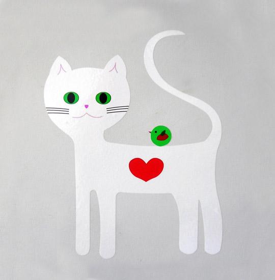 vinilo-gato-blanco