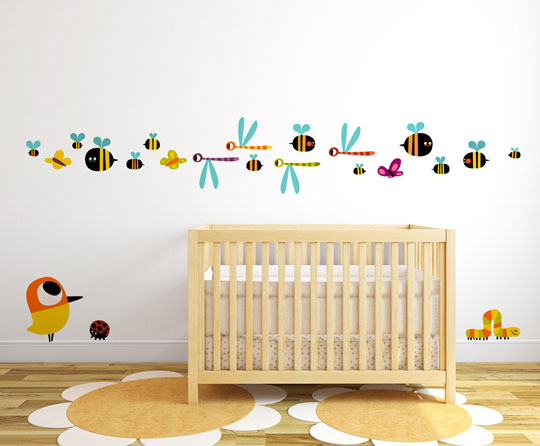 Stickway vinilos decorativos de autor decoideas net for Vinilos decorativos pared infantiles