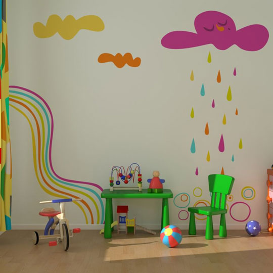 Stickway vinilos decorativos de autor decoideas net for Decoracion para paredes infantiles