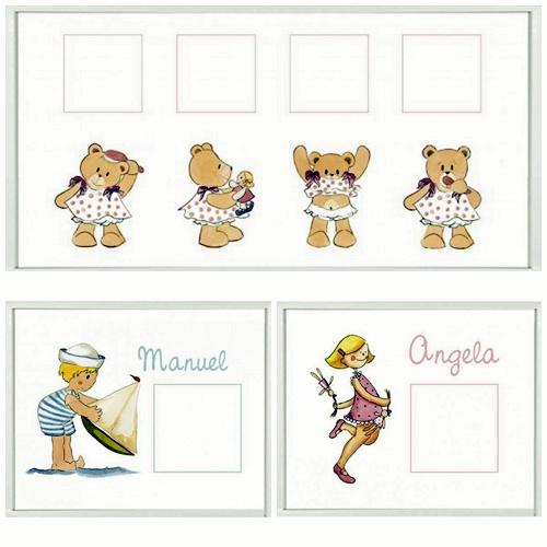 Cuadros infantiles para fotos decoideas net - Cuadros para habitaciones infantiles ...
