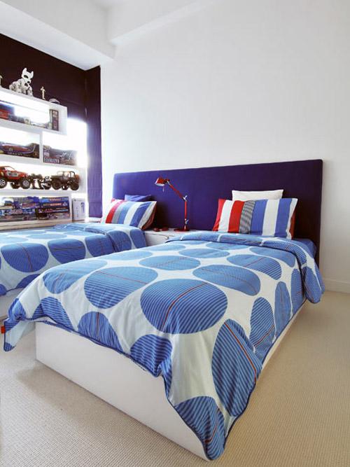 10 habitaciones dobles infantiles for Ideas para decorar habitacion nino de 3 anos
