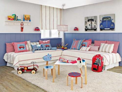 Perfect 10 Habitaciones Infantiles Dobles Decoideas Net Habitaciones Dobles Para  Ninos