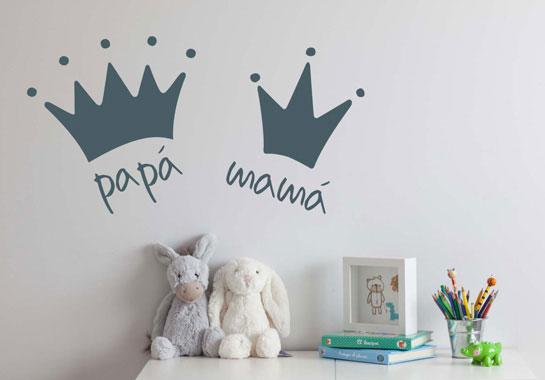Idea vinilos infantiles para el d a de la madre for Color del dormitorio de los padres