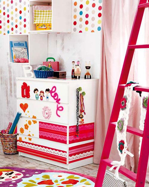 Transformar una cómoda para la habitación juvenil