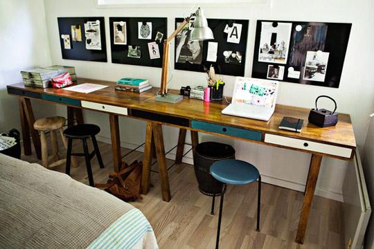 Crear una zona de estudio para dos ni os for Zona de estudio
