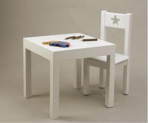 Mesa infantil madera imagui - Silla de mesa para bebe ...