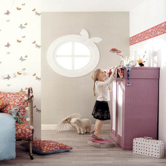 Papel pintado infantil - Papel pintado para habitacion de nina ...