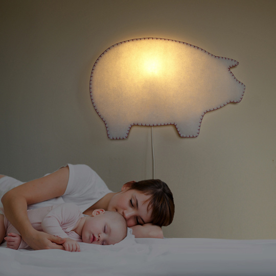 Softlight, nuevas lu00e1mparas infantiles de pared : Decoideas.Net